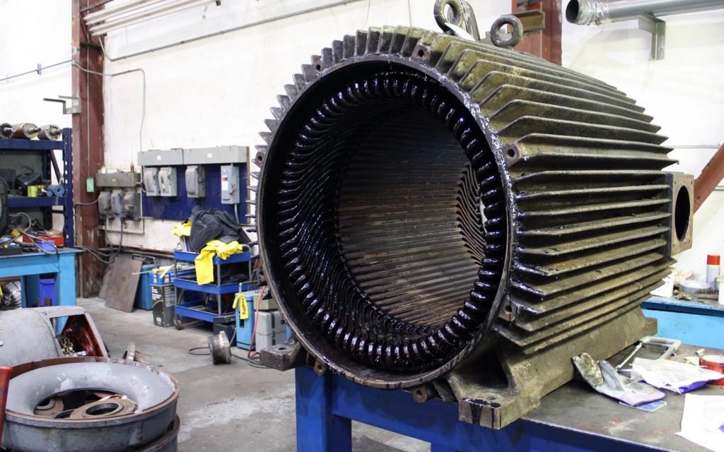 Industrial motor service