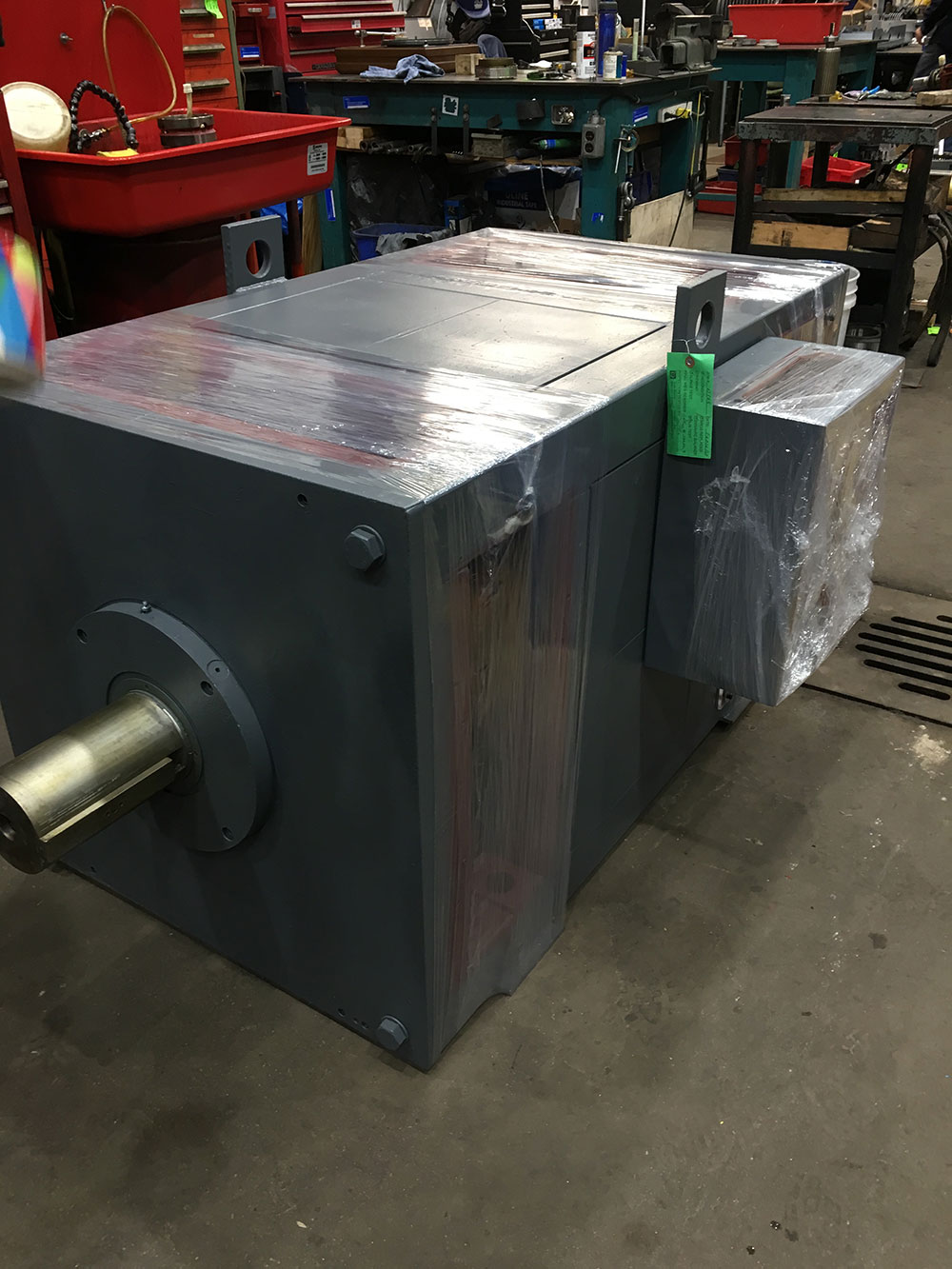 ASEA motor in the Duke Electric shop