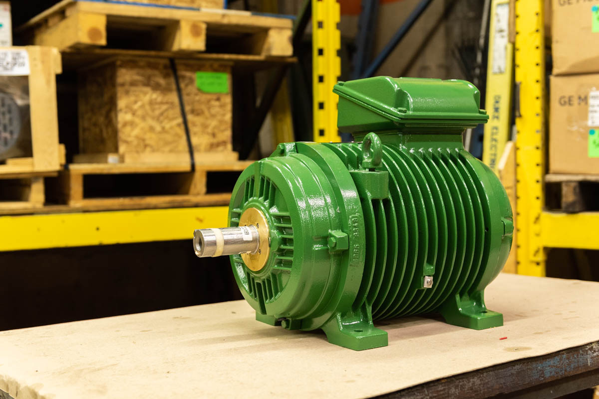 Meet the Green Beast: Duke and WEG's custom ROT motor