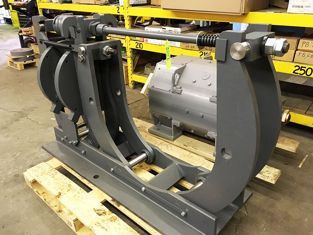 30-inch industrial brake refurbishment